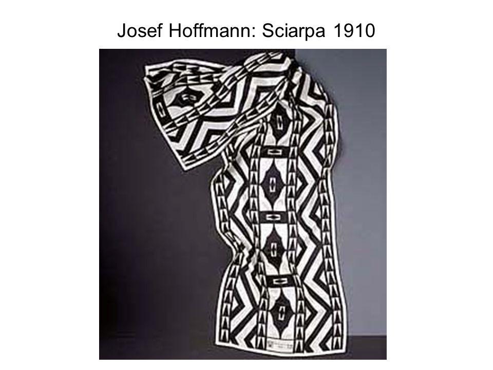 Josef Hoffmann: Sciarpa 1910