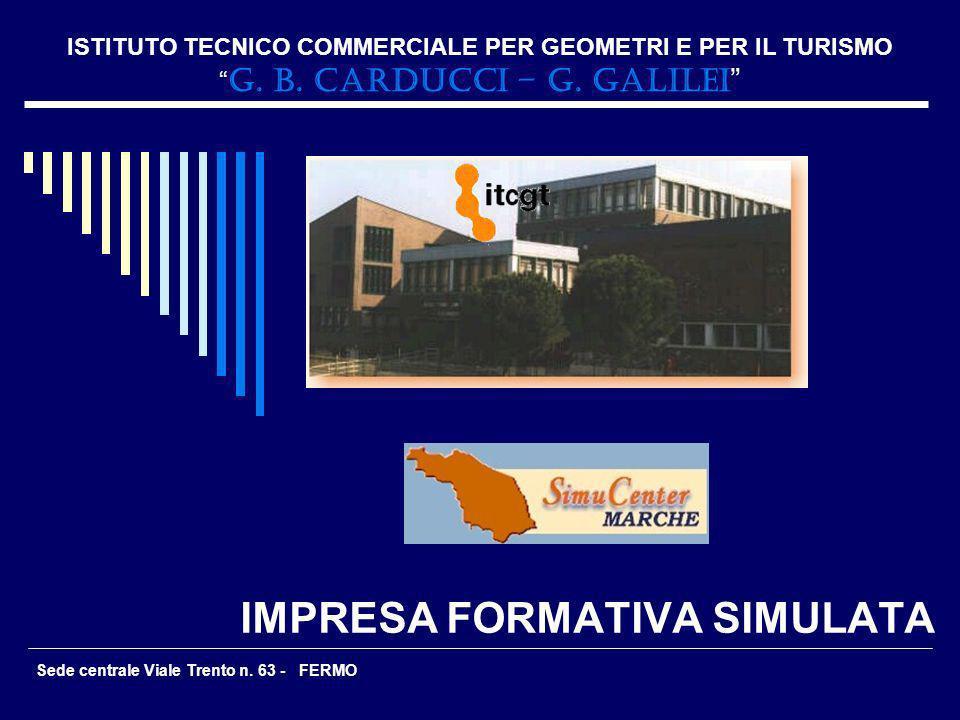 IMPRESA FORMATIVA SIMULATA ISTITUTO TECNICO COMMERCIALE PER GEOMETRI E PER IL TURISMO G. B. CARDUCCI – G. GALILEI Sede centrale Viale Trento n. 63 - F