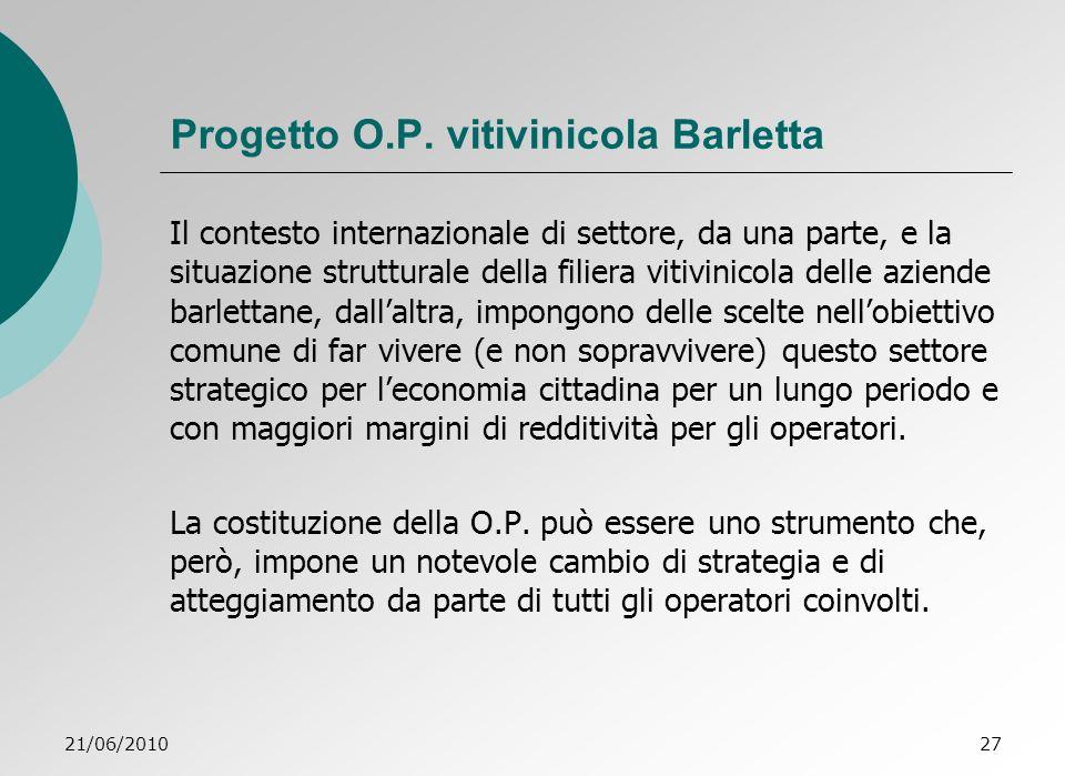 21/06/201027 Progetto O.P.