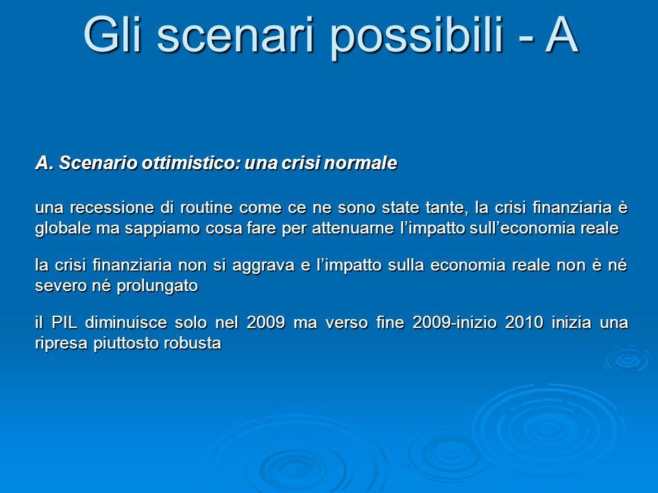 Gli scenari possibili - A A.