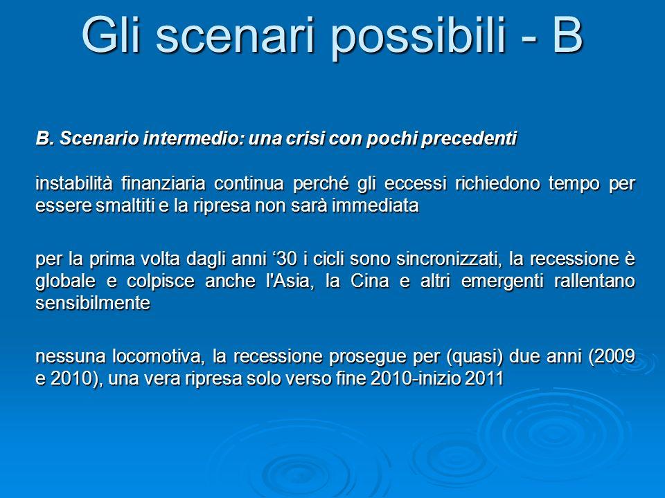 Gli scenari possibili - B B.
