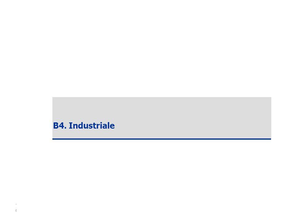 Copyright ANCE – SDA Bocconi 2006 25 B4. Industriale