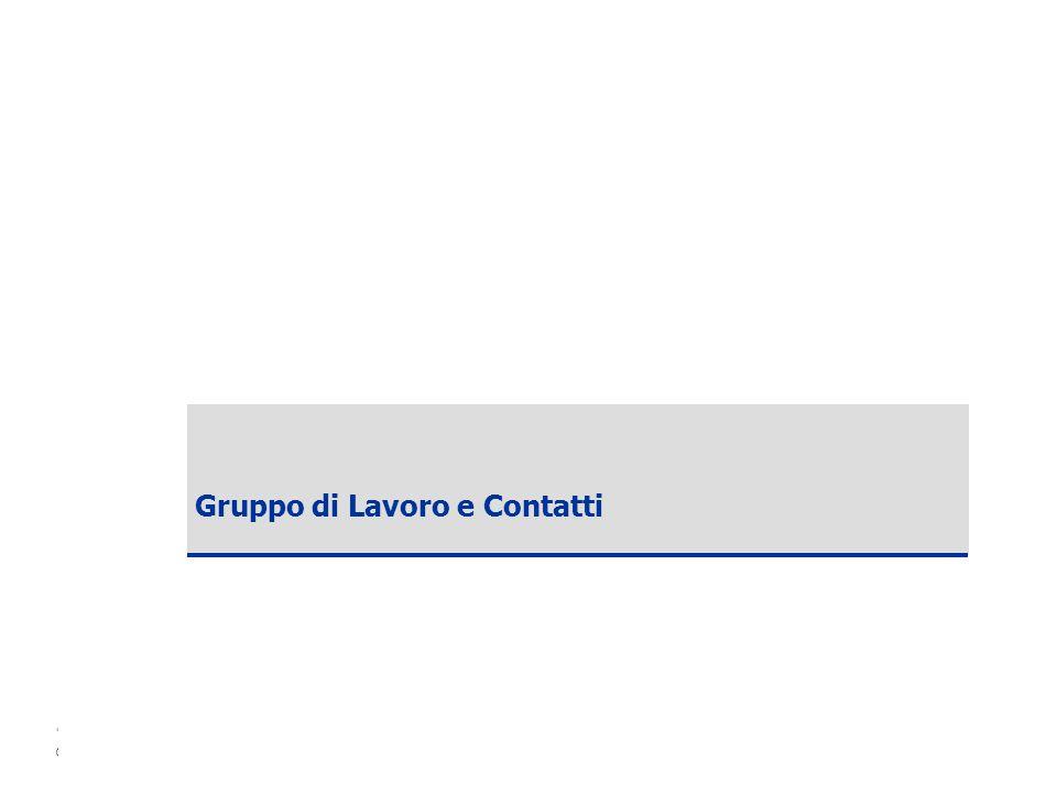 Copyright ANCE – SDA Bocconi 2006 51 Gruppo di Lavoro e Contatti
