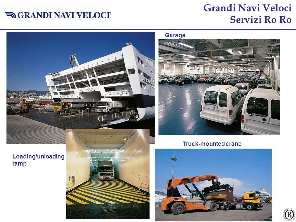 pag. 17 Loading/unloading ramp Garage Grandi Navi Veloci Servizi Ro Ro Truck-mounted crane