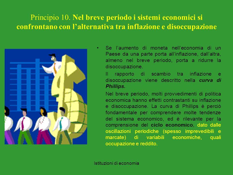 Istituzioni di economia Principio 10.