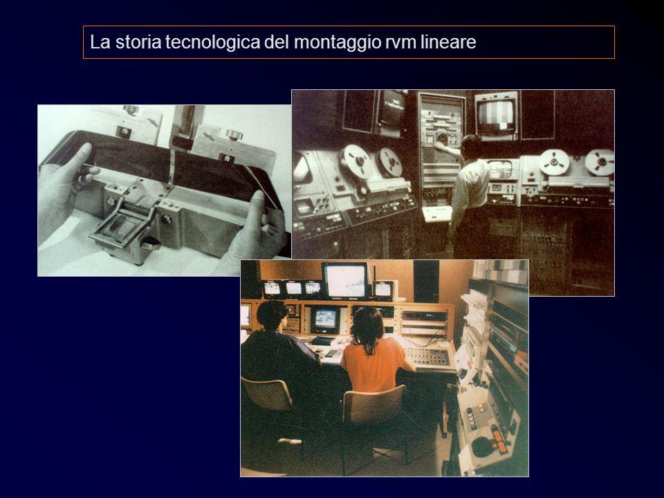 Post 9 La storia tecnologica del montaggio rvm lineare