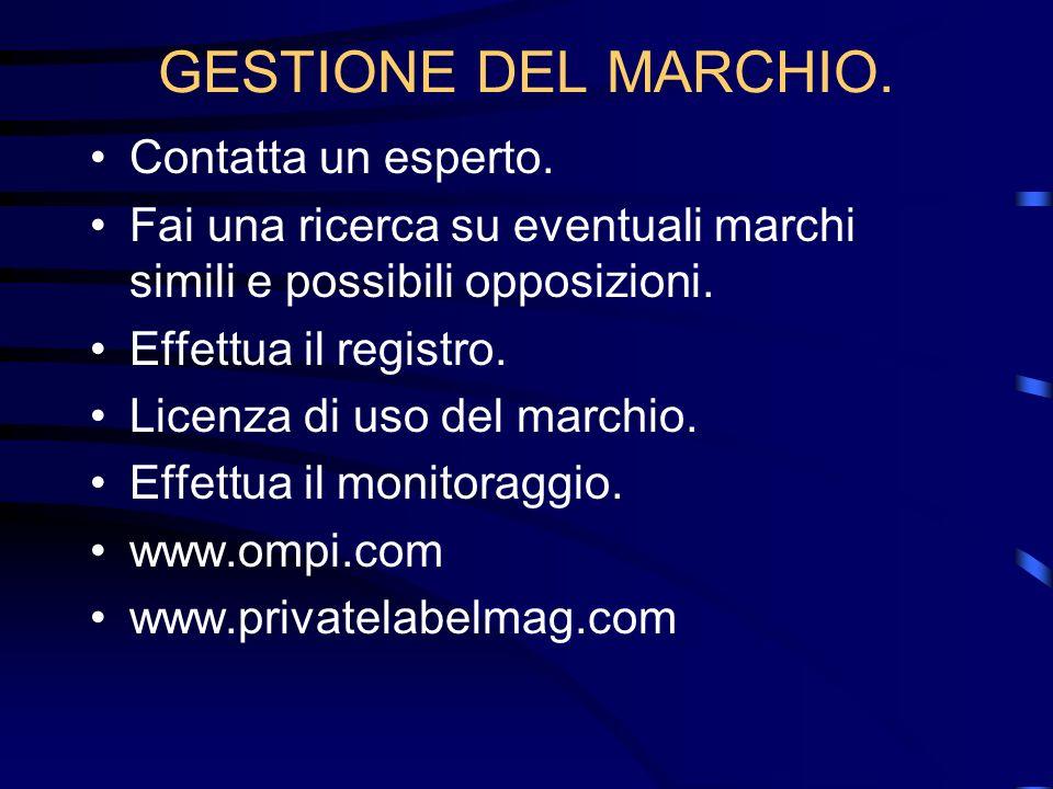 IL MARCHIO E DUREVOLE .