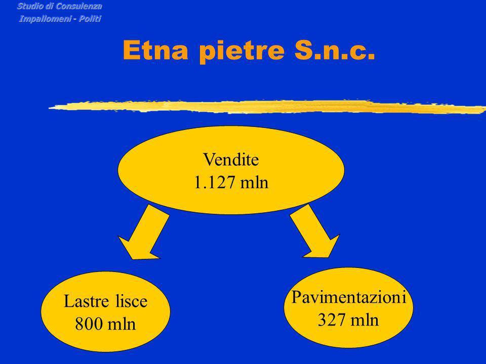 Etna pietre S.n.c. Studio di Consulenza Impallomeni - Politi COSTI COSTI VARIABILICOSTI FISSI
