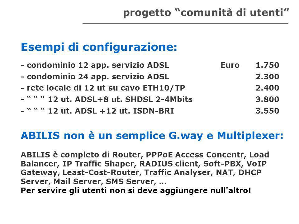 - condominio 12 app.servizio ADSLEuro1.750 - condominio 24 app.