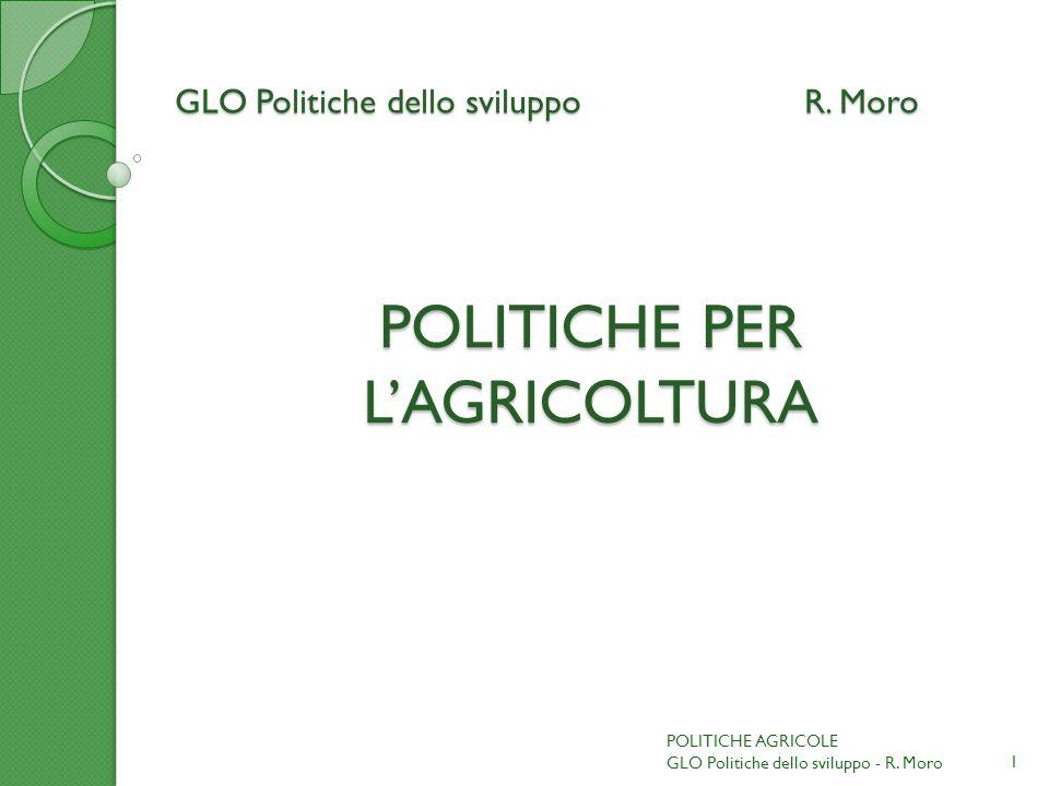 GLO Politiche dello sviluppoR.