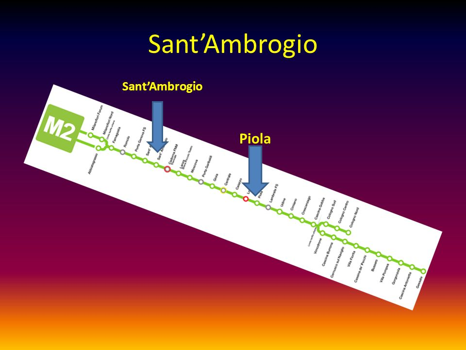 SantAmbrogio Piola SantAmbrogio
