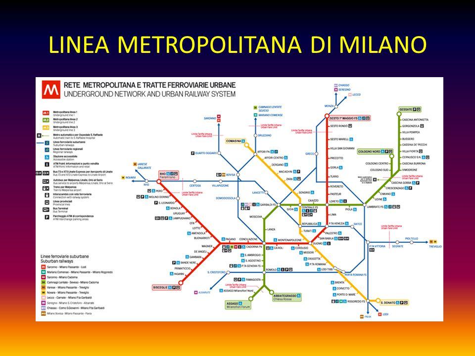 LINEA METROPOLITANA DI MILANO