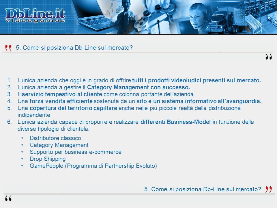 1.Lunica azienda che oggi è in grado di offrire tutti i prodotti videoludici presenti sul mercato. 2.Lunica azienda a gestire il Category Management c