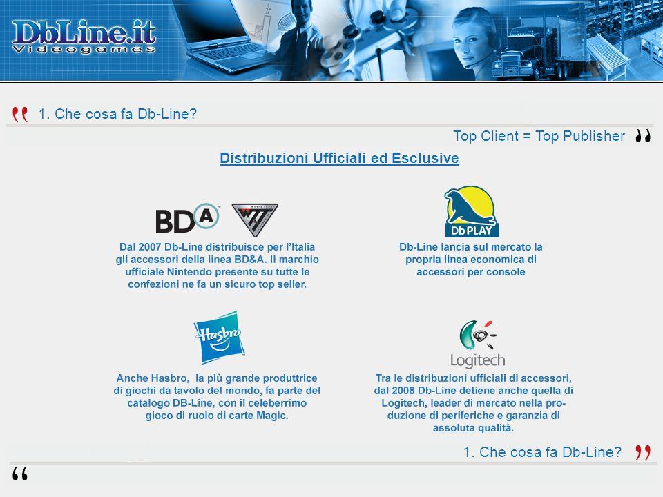 Distribuzioni Ufficiali ed Esclusive 1. Che cosa fa Db-Line.