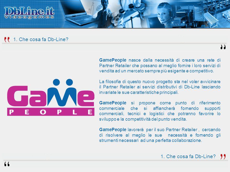 GamePeople nasce dalla necessità di creare una rete di Partner Retailer che possano al meglio fornire i loro servizi di vendita ad un mercato sempre più esigente e competitivo.