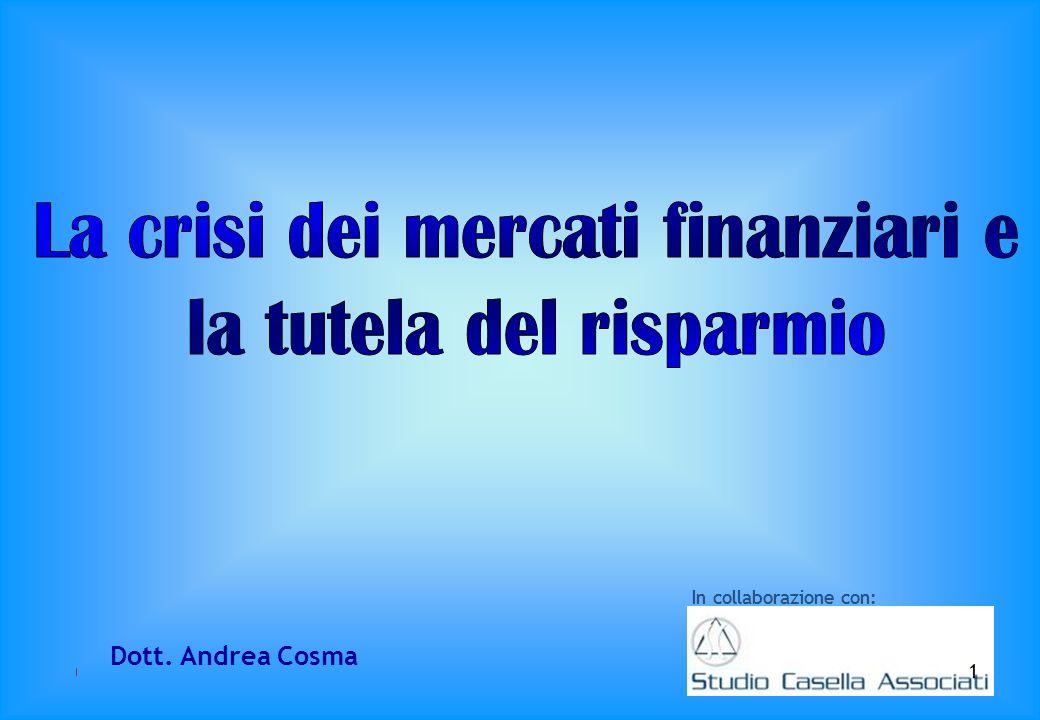In collaborazione con: 1 Dott. Andrea Cosma