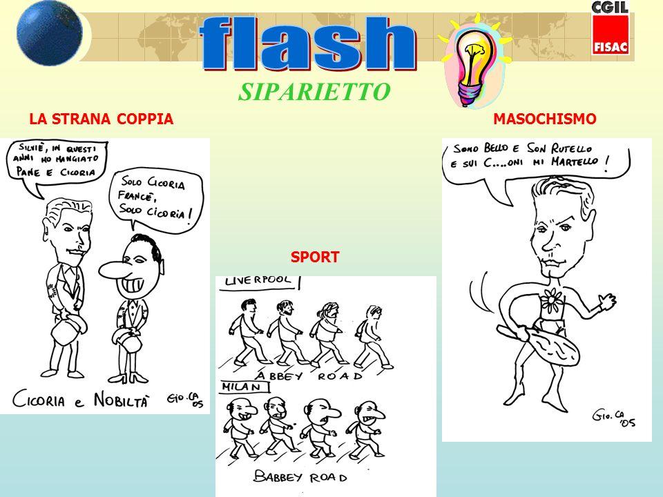SIPARIETTO LA STRANA COPPIAMASOCHISMO SPORT