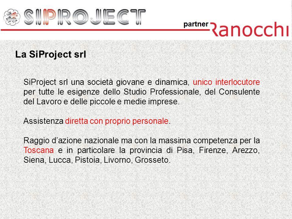 SiProject srl una società giovane e dinamica, unico interlocutore per tutte le esigenze dello Studio Professionale, del Consulente del Lavoro e delle