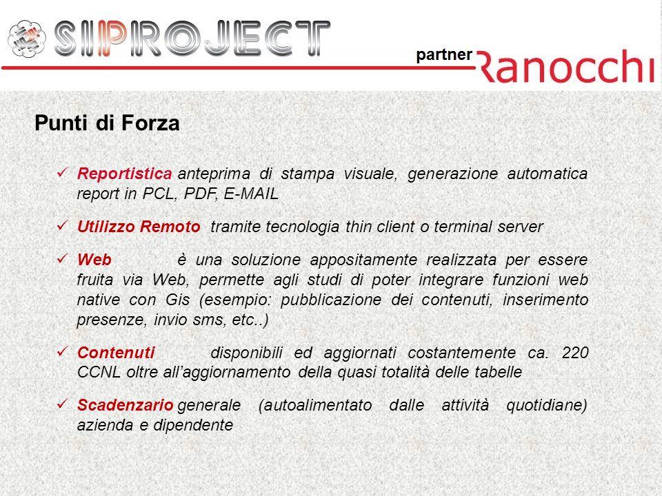 Il gruppo Ranocchi ha sviluppato (e mantiene costantemente aggiornati) profili di conversione ed importazione di tutti i dati dalle principali procedure presenti sul mercato.