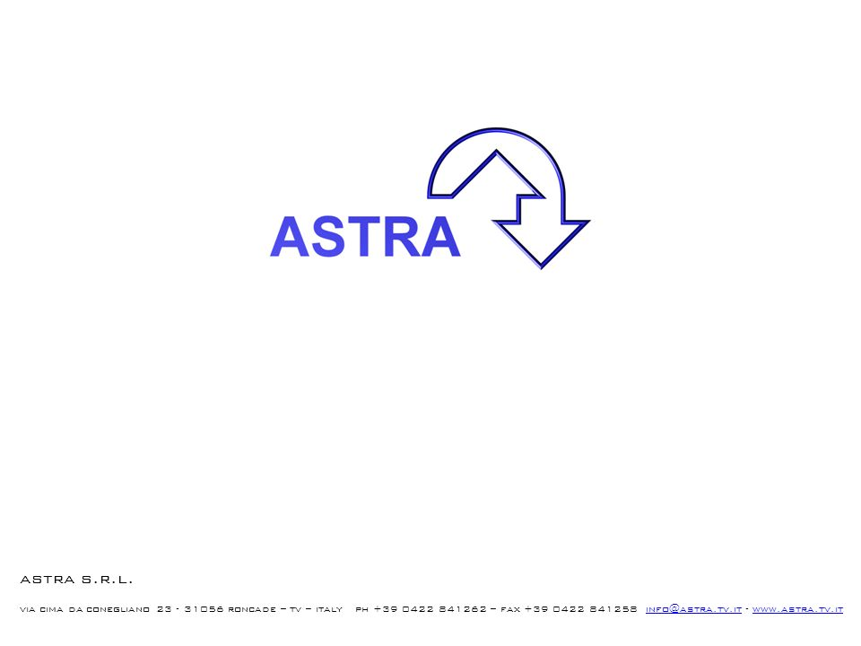 astra s.r.l.