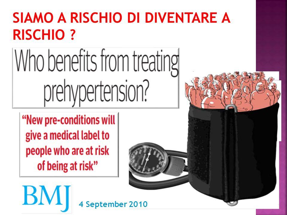 SIAMO A RISCHIO DI DIVENTARE A RISCHIO ? 4 September 2010