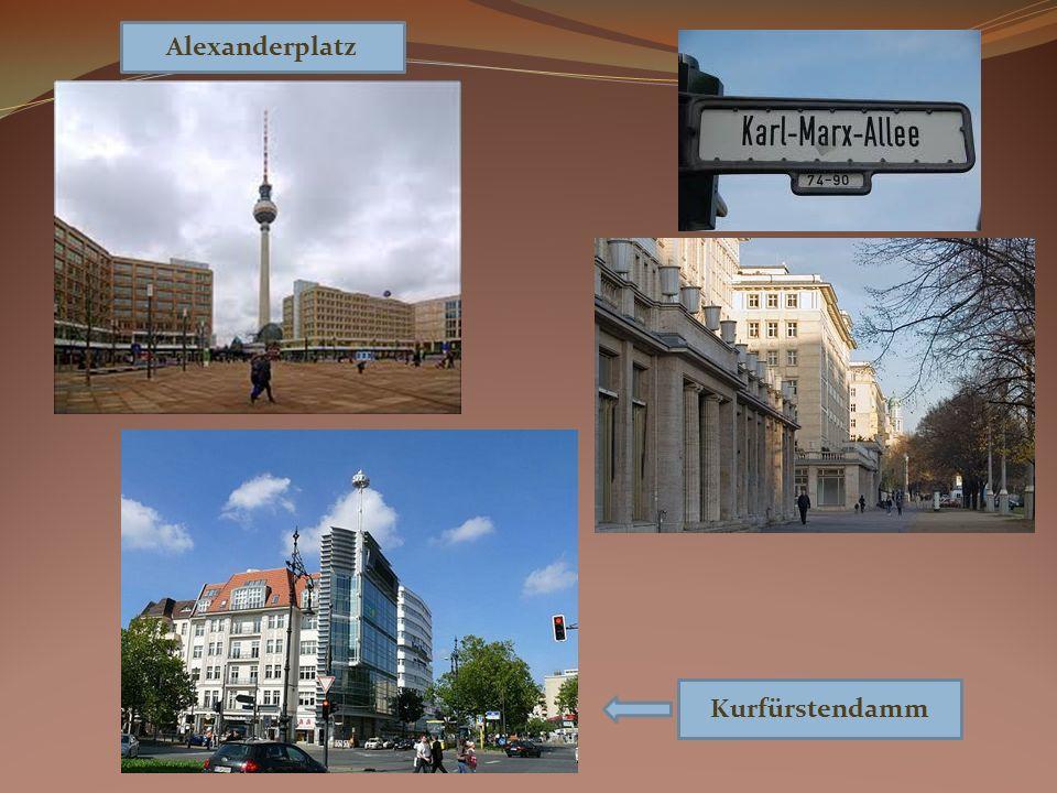 Kurfürstendamm Alexanderplatz