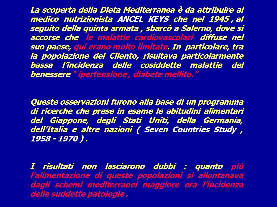 Dove nasce la Dieta Mediterranea ? Nelle cucine tradizionali del bacino del Mediterraneo, quindi delle coste italiane, spagnole, greche e arabe. I nut
