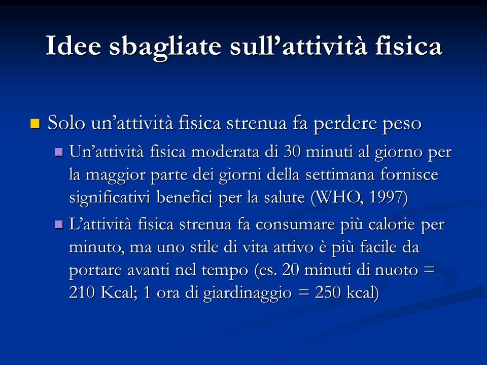 Prevenzione di obesità e diabete: ruolo dellattività fisica Prevenzione di obesità e diabete: ruolo dellattività fisica Ladozione di uno stile di vita