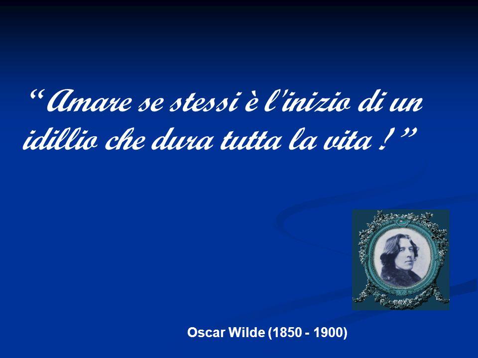 Oscar Wilde (1850 - 1900) Io per la mia salute farei qualunque cosa… tranne dieta e moto…