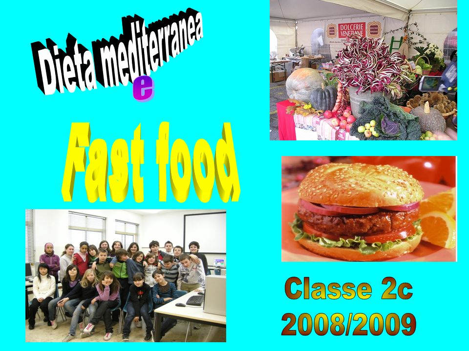 Alimenti Piramide alimentare Dieta mediterranea Fast food Fabbisogno energetico Street food