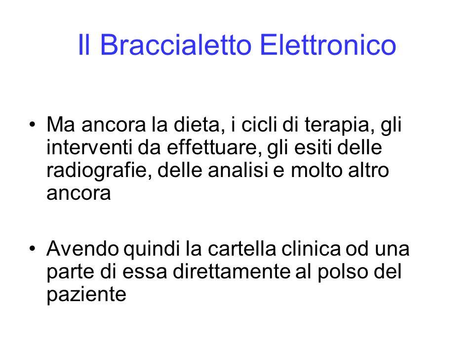 Il Braccialetto Elettronico Ma ancora la dieta, i cicli di terapia, gli interventi da effettuare, gli esiti delle radiografie, delle analisi e molto a