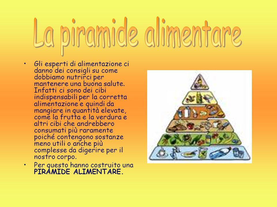 Gli esperti di alimentazione ci danno dei consigli su come dobbiamo nutrirci per mantenere una buona salute. Infatti ci sono dei cibi indispensabili p