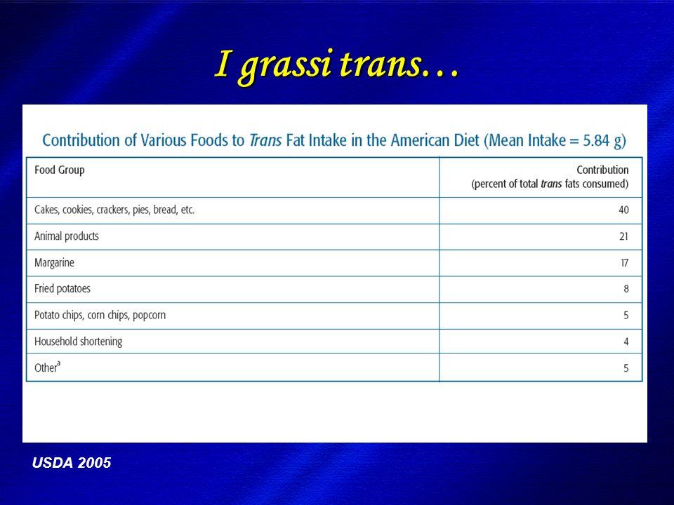DIMISEM Perugia 2002 I grassi trans… USDA 2005