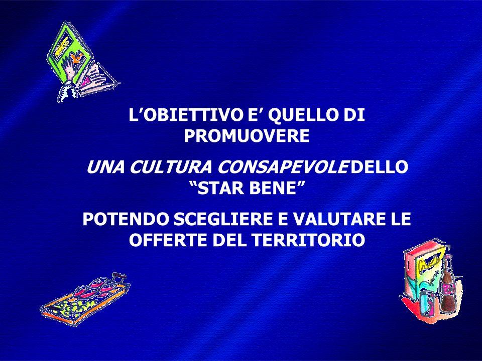 DIMISEM Perugia 2002 LOBIETTIVO E QUELLO DI PROMUOVERE UNA CULTURA CONSAPEVOLE DELLO STAR BENE POTENDO SCEGLIERE E VALUTARE LE OFFERTE DEL TERRITORIO