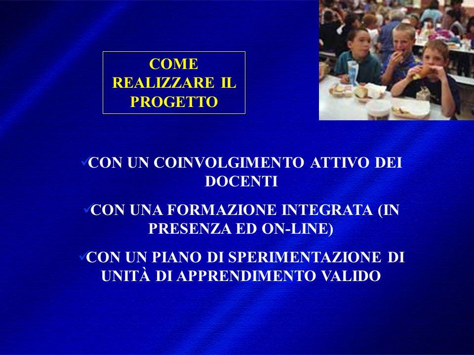 DIMISEM Perugia 2002 COME REALIZZARE IL PROGETTO CON UN COINVOLGIMENTO ATTIVO DEI DOCENTI CON UNA FORMAZIONE INTEGRATA (IN PRESENZA ED ON-LINE) CON UN PIANO DI SPERIMENTAZIONE DI UNITÀ DI APPRENDIMENTO VALIDO