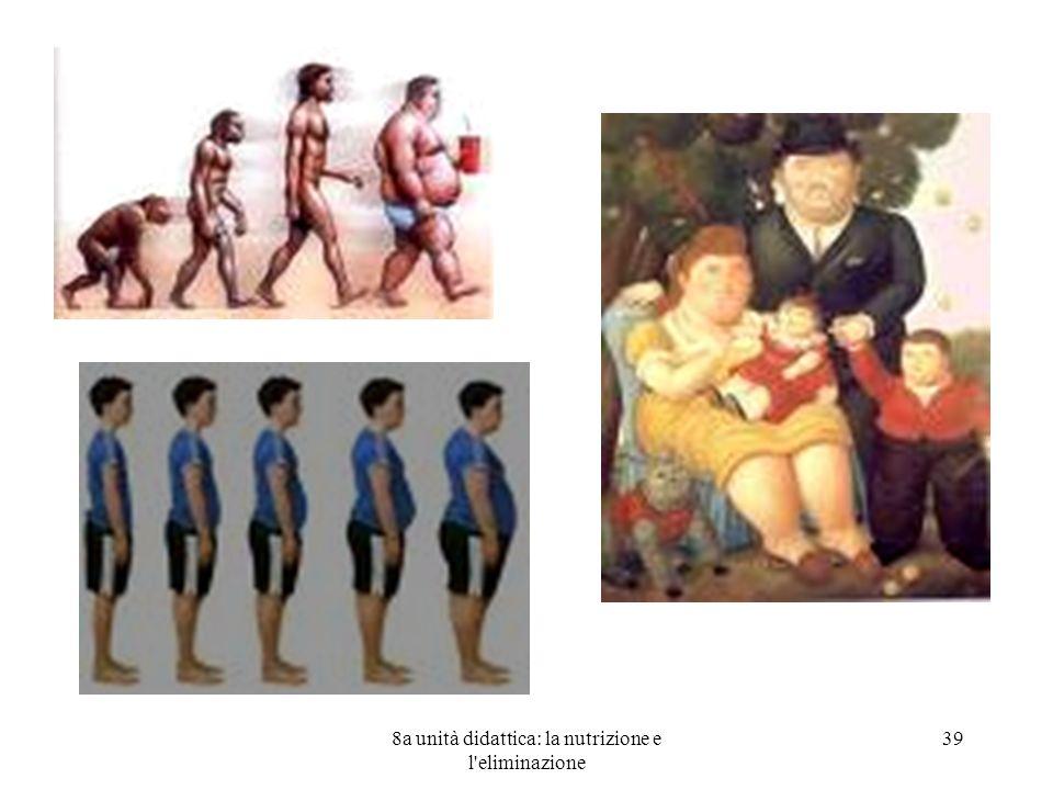 8a unità didattica: la nutrizione e l'eliminazione 39