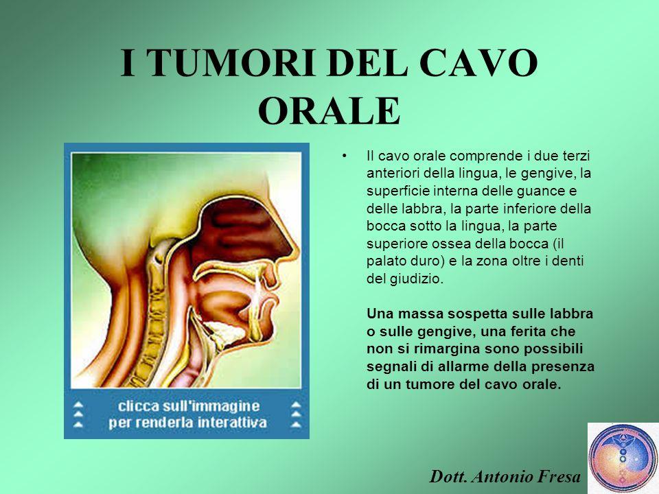 IL CAVO ORALE Dott. Antonio Fresa