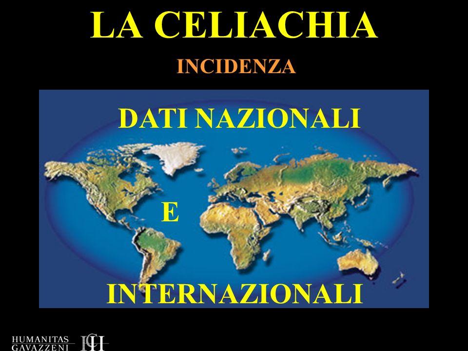 LA CELIACHIA E DAL PUNTO DI VISTA LEGISLATIVO .