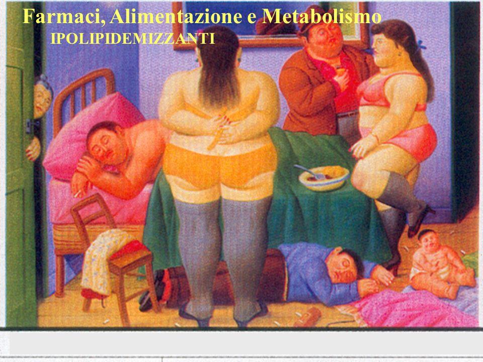 Farmaci, Alimentazione e Metabolismo IPOLIPIDEMIZZANTI