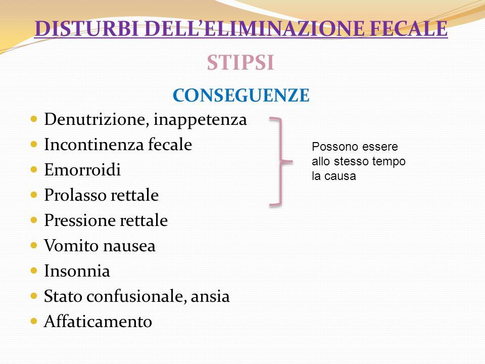Valutazione esatta del ritmo della evacuazione e la descrizione precisa delle caratteristiche delle feci.