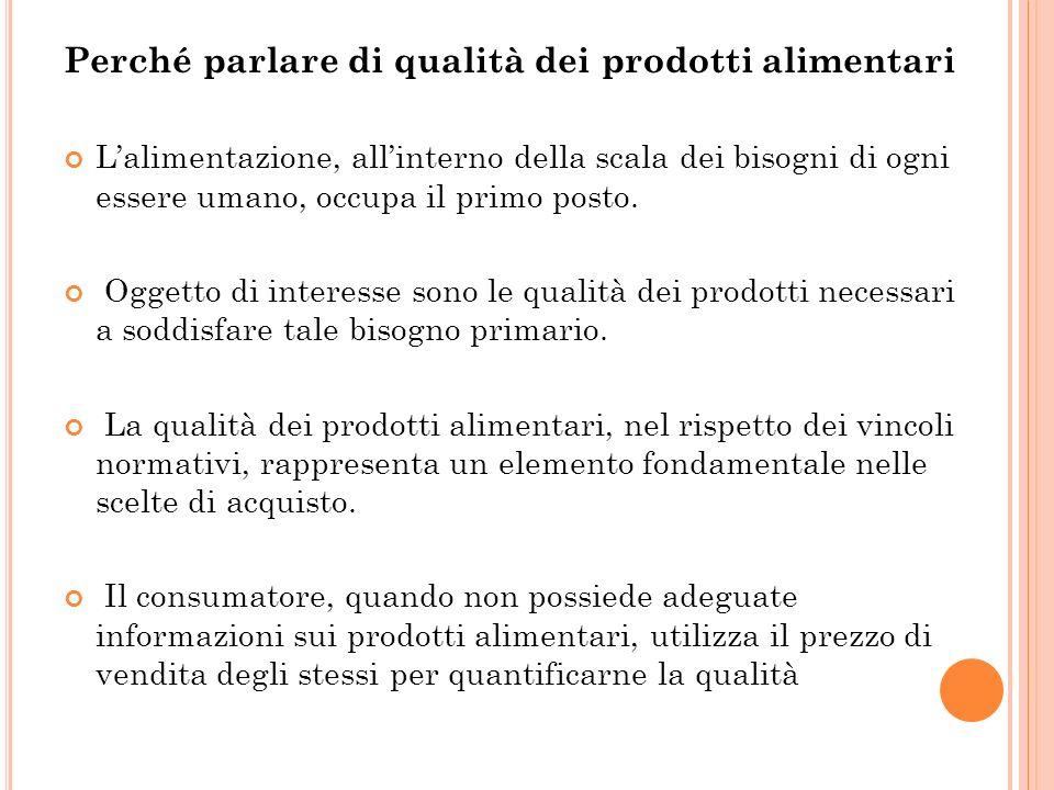 Il concetto di qualità col passare degli anni ha subito una profonda evoluzione, grazie, soprattutto alla presa di coscienza da parte dei consumatori stessi, della sua importanza.