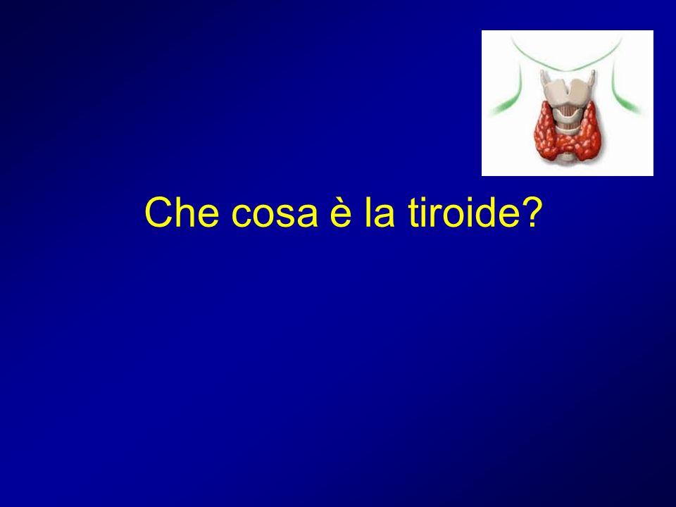 Che cosa è la tiroide?