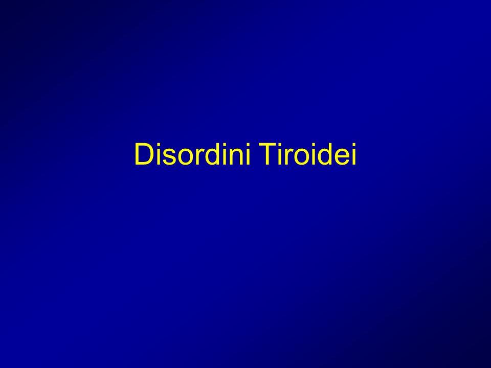 Disordini Tiroidei