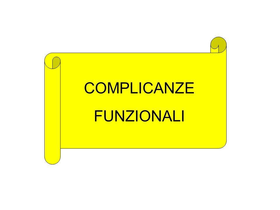 COMPLICANZE FUNZIONALI