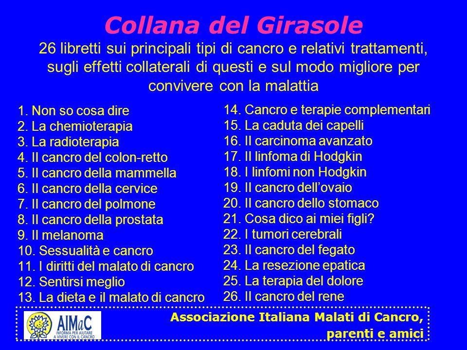 Associazione Italiana Malati di Cancro, parenti e amici