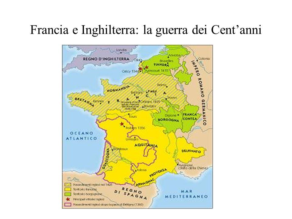 Francia e Inghilterra: la guerra dei Centanni