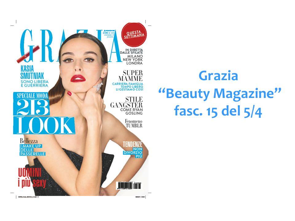 Grazia Beauty Magazine fasc. 15 del 5/4