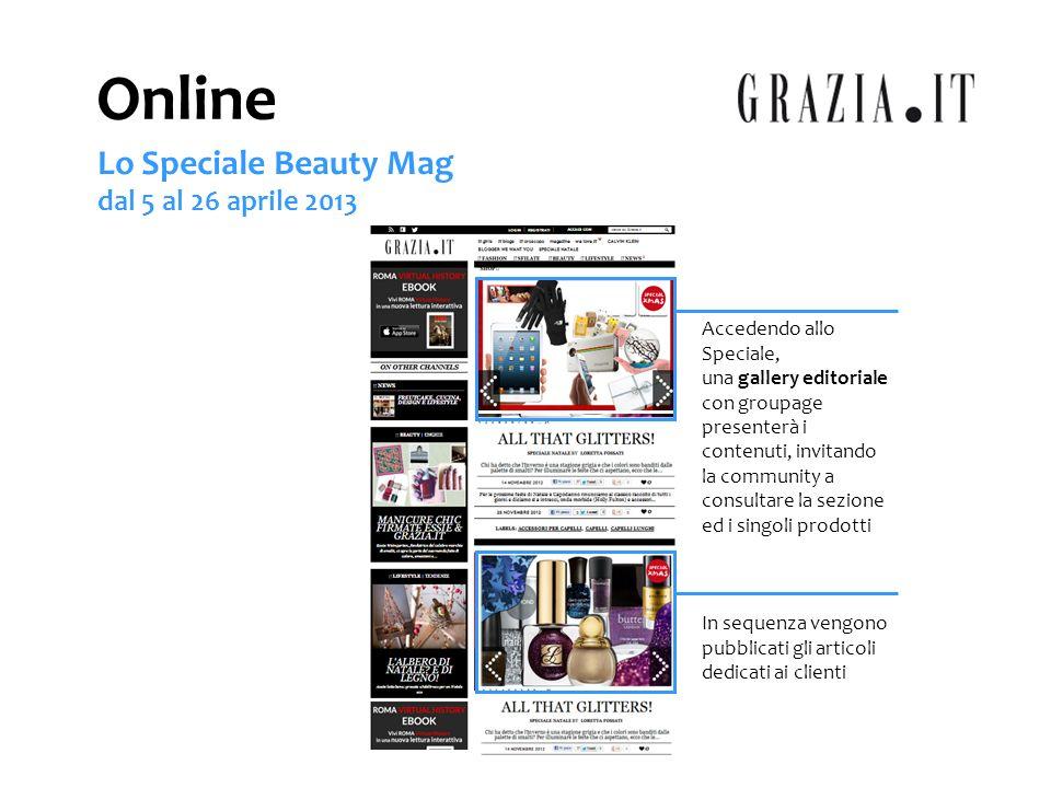 FOTOGALLERY Secondo Grazia.it, le immagini hanno un ruolo fondamentale.