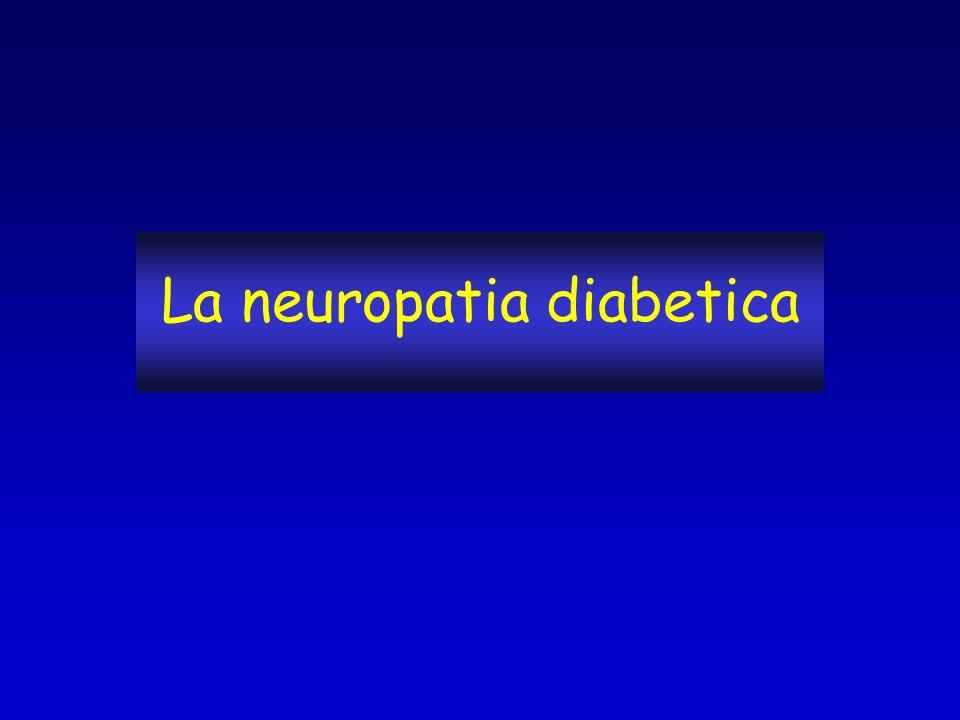 La neuropatia diabetica