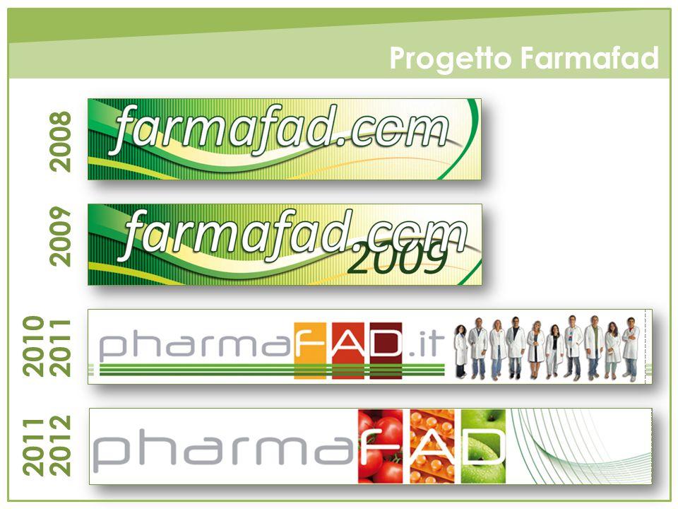 2008 2009 2010 2011 2011 2012 Progetto Farmafad